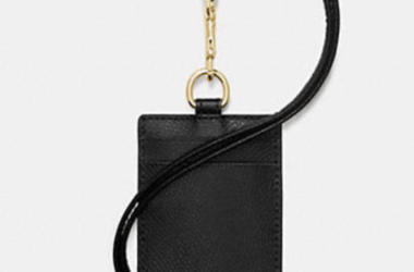 Coach ID Lanyard for just $23.12 Shipped (Reg. $78.00)!
