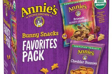 Annie's 36-Ct Snack Variety Box for $8.91!