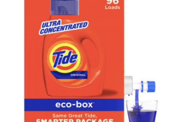 Tide Liquid Laundry Detergent Eco Box Only $14.48!