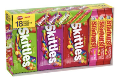 Skittles and Starburst Candy Full Size Variety Mix Just $12.24 Shipped!