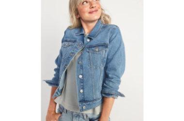 Women's Jean Jackets Just $15 (Reg. $40)!