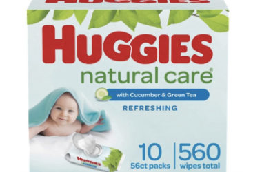 Huggies Natural Care Baby Wipes As Low As $10.68 Shipped!