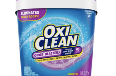 OxiClean Odor Blasters Stain & Odor Remover, 5lb Tub As Low As $8.47!