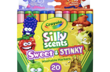 Crayola Silly Scents Sweet & Stinky Scented Markers Only $4.50 (Reg. $10)!