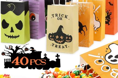 40 Halloween Treat Bags for $7.87!!
