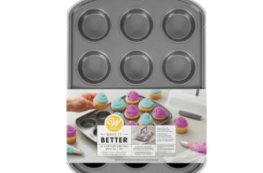 Wilton Cupcake Pan with Lid Only $5.64 (Reg. $12)!