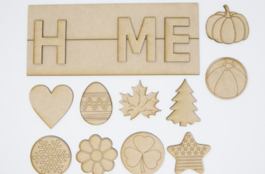DIY Interchangeable Home Sign for $19.99 Shipped!