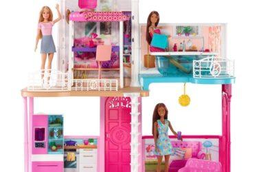Barbie Dollhouse with Three Dolls for $59.00 (Reg. $139.00)!