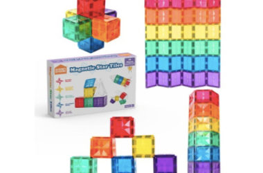 Magnetic Tiles 36pc Expansion Pack Only $14.39 (Reg. $23)!