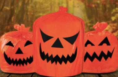 Halloween Pumpkin Plastic Trash Bags Just $3.99 (Reg. $8)!