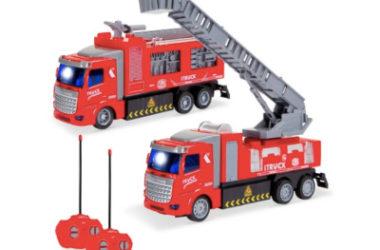 2 RC Fire Trucks Only $21.99 (Reg. $50)!