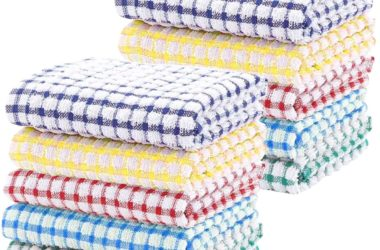 10-Pack of Kitchen Dish Towels for $7.69!