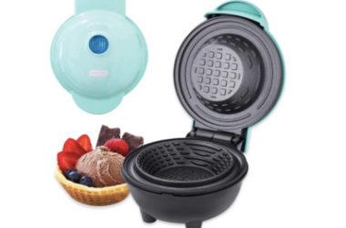 Dash Mini Waffle Bowl Maker Only $15.99 (Reg. $25)!